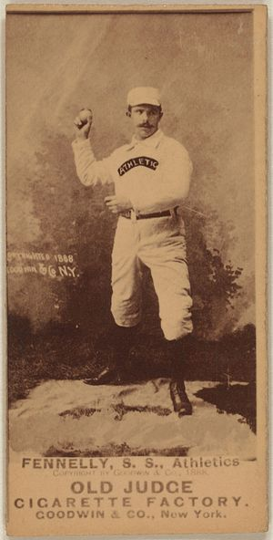Frank Fennelly - Image: Frank Fennelly baseball card
