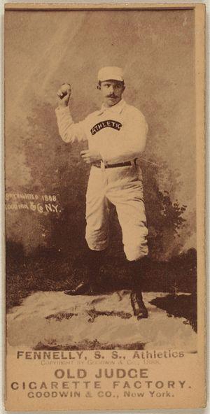 Frank Fennelly - Image: Frank Fennelly baseball card