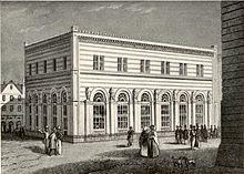 Borsa antica, ca. 1845