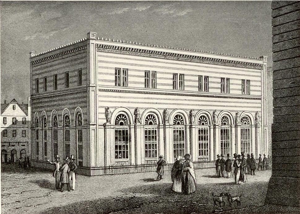 Frankfurt Alte Börse 1845