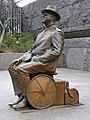 Franklin Delano Roosevelt wheelchair statue.jpg