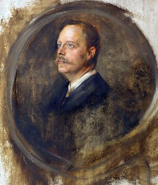 Franz von Lenbach Portraitstudie Chamberlain