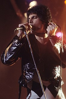 Mercury performing in New Haven, Connecticut, 1977