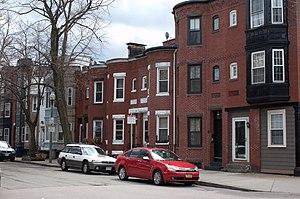 Frederick Douglass Square Historic District - Image: Frederick Douglass Square Roxbury MA 1