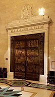 Freemasons' Hall, London - Grand Temple door 01.jpg
