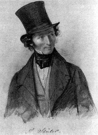 Friedrich August Stüler - Friedrich August Stüler in 1840