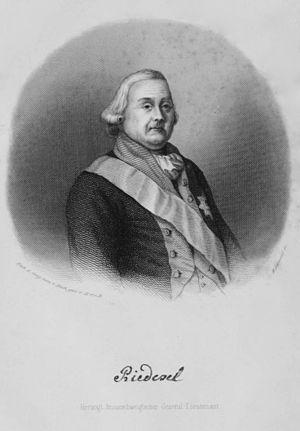 Friedrich Adolf Riedesel - Image: Friedrich Adolf Riedesel