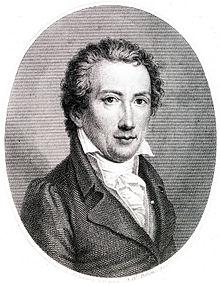 Friedrich Rochlitz, portrait by Veit Hanns Schnorr von Carolsfeld, c 1820 (Source: Wikimedia)