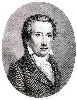 Biographies of Mozart - Friedrich Rochlitz, portrait by Veit Hanns Schnorr von Carolsfeld, c 1820