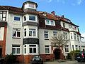 Fritzenwiese 38, Celle, 48 F, das Gebäude hinter dem Stolperstein Mendel Schul und Berta geb. Felder.jpg