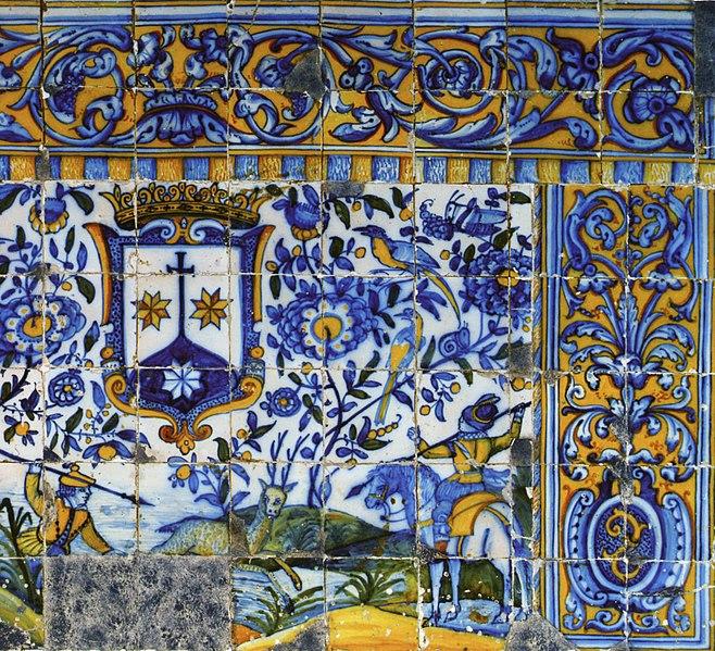 File frontal de altar em azulejo c1670 jpg wikimedia for Azulejos conde