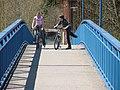 Fußgänger- und Radlerbrücke - panoramio.jpg