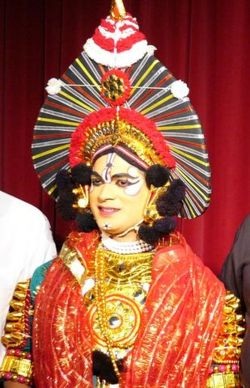 Yakshagana, popular in Udupi dist.