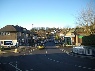 Fulwood, Sheffield - The small shopping area on Brooklands Avenue.