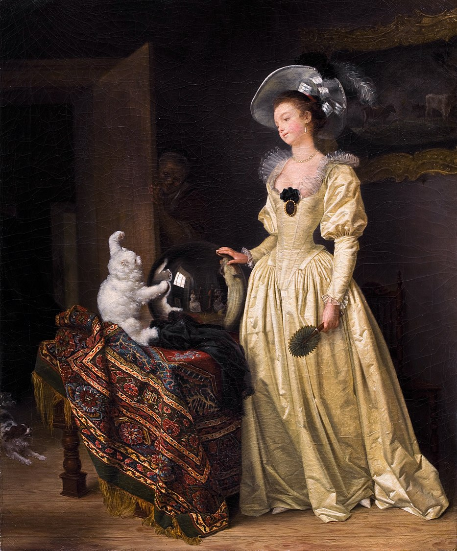 Gérard, Marguerite and Fragonard, Jean-Honoré - Le chat angora -.jpg