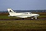 G-EYES Cessna 402 Air Corbiere CVT 05-07-91 (35792044852).jpg