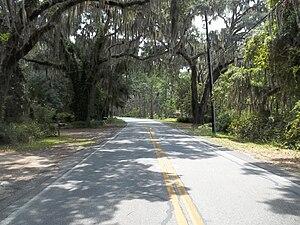Georgia State Route 99 - SR 99 in Ridgeville