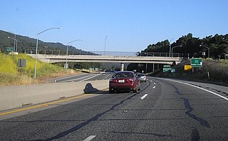 California State Route 17 - Gillian Cichowski Memorial Overcrossing.