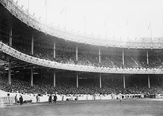 1912 World Series - Polo Grounds crowd at Game 1