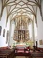 Gampern Kirche mittelalterlicher Flügelaltar.jpg