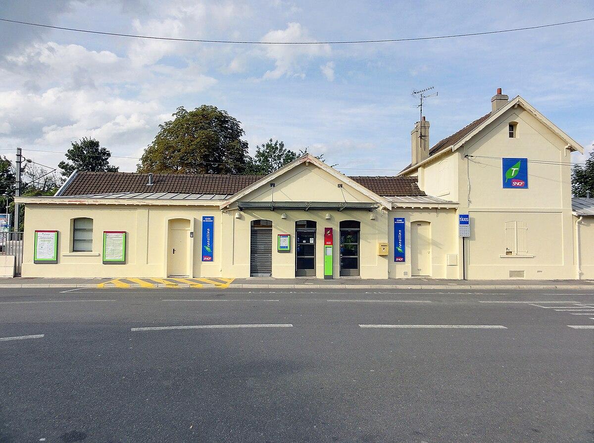 Gare de domont wikip dia for Domon achat en ligne