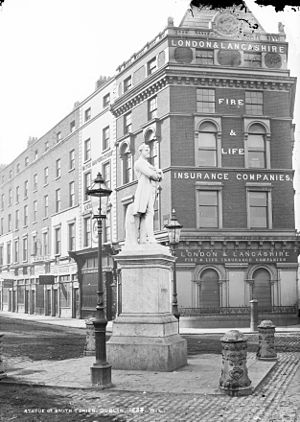Aviva - Predecessor company London and Lancashire Fire and Life, pictured in Dublin, c. 1871