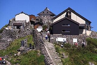 Gassan Shrine building in Shonai, Yamagata Prefecture, Japan