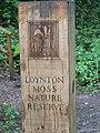Gatepost, Loynton Moss - geograph.org.uk - 240541.jpg