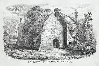 Gateway of Penhow Castle