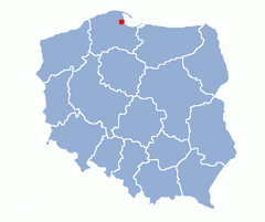 Gdynia location map.png