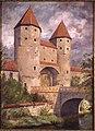Gemälde - Hans Bartolo Brand - Amberg - Nabburger Tor.jpg
