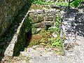 Genainville (95), sente rurale n° 8, escalier vers le ruisseau Chalot, sente rurale n° 8.jpg