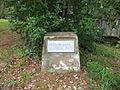 Geo. M. Dame Memorial Park, Homerville marker.JPG
