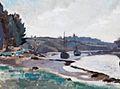 Geoffrey Nelson Le port de Pont-Aven.jpg