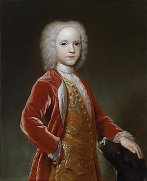 George Dodington, 1st Baron Melcombe - George Bubb at a young age