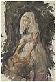 George Hendrik Breitner - Schevenings meisje aan de wastobbe.jpg