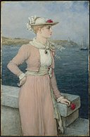 George Henry Boughton - Sea Breeze - 16.67 - Museum of Fine Arts.jpg
