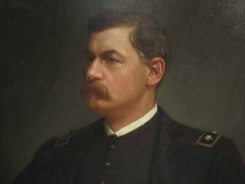 George McClellan at National Portrait Gallery IMG 4524