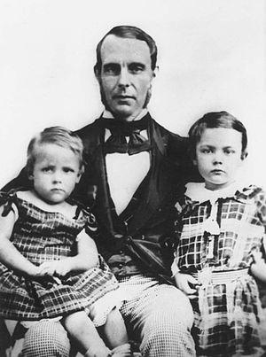George Morison Robertson - George Morison Robertson and his sons: James and George
