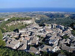 Panorama of Gerace