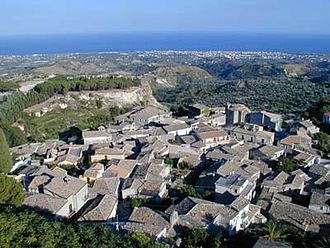 Gerace - Panorama of Gerace