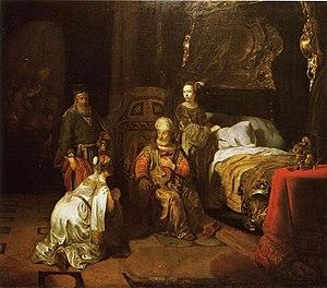 David Promises Bathsheba that Solomon will be his Successor