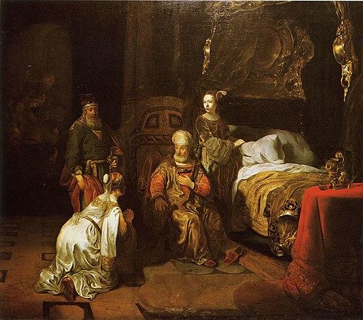 Gerbrand van den Eeckhout - David Promises Bathsheba that Solomon will be his Successor