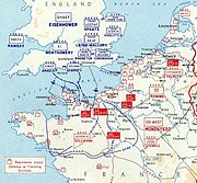 German depositions in France - June 1944