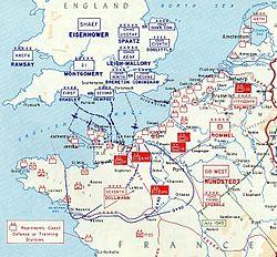 Den Tyske Situation I Normandiet I 1944 Wikipedia Den Frie