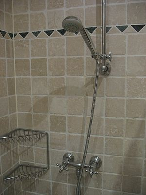 German shower tap