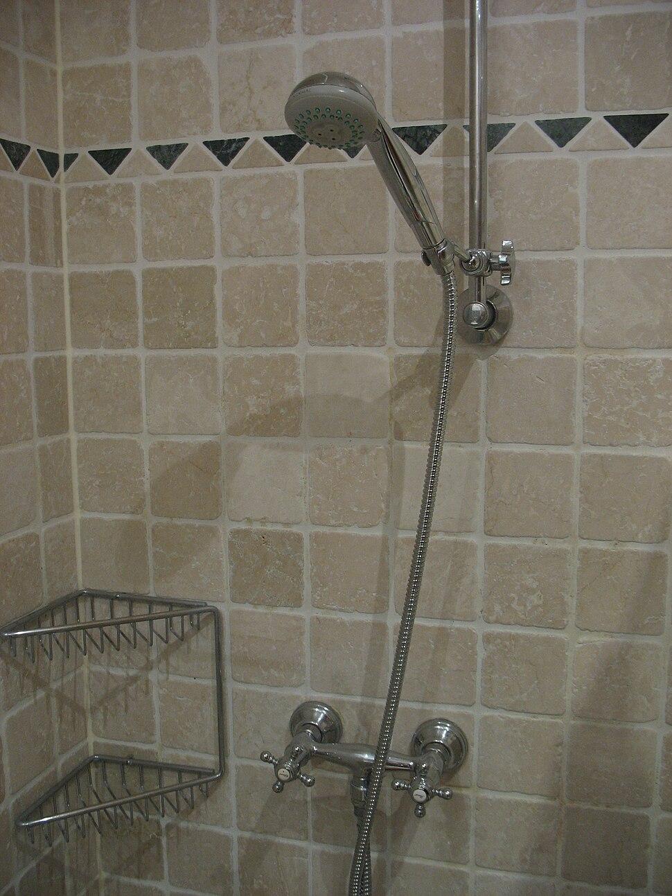 German shower tap