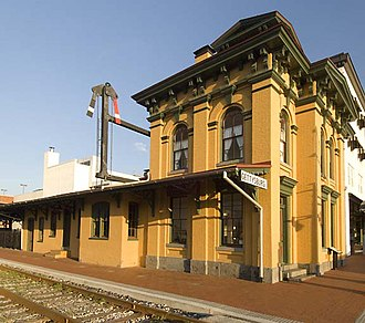 Gettysburg Railroad - The Gettysburg Railroad Station of was used as a hospital during the Battle of Gettysburg