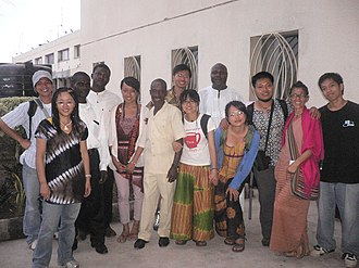 Chinese people in Ghana - Image: Ghanaian Chinese family