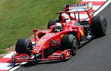 Fisichella su Ferrari F60 al Gran Premio del Giappone 2009